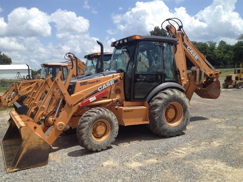 2018 Case 580SM PLUS Loader Backhoe For Sale at