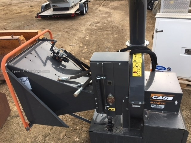 2015 Case CH800H, Tree Chipper, Hi-Flow Hydraulics Skid Steer Attachment For Sale