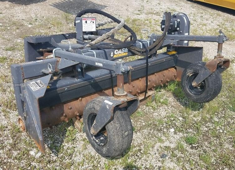 """2015 Case 76SS, 76"""" Width, Hyd Dr Power Rake Skid Steer Attachment For Sale"""