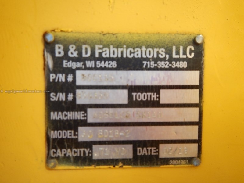 2012 B&D Fabricators 30EXC, Fits Kobelco SK140, Bolt On Edge, 75MM Pin Excavator Bucket For Sale