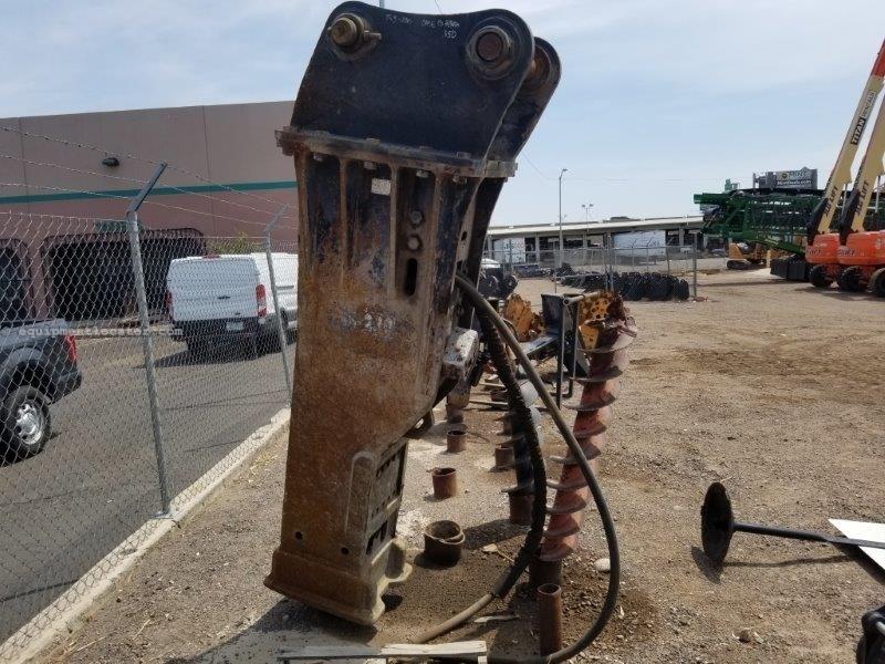 2014 Toku CH-230, Fits Case CX350C-CX350D, 5953 Lbs Excavator Attachment For Sale