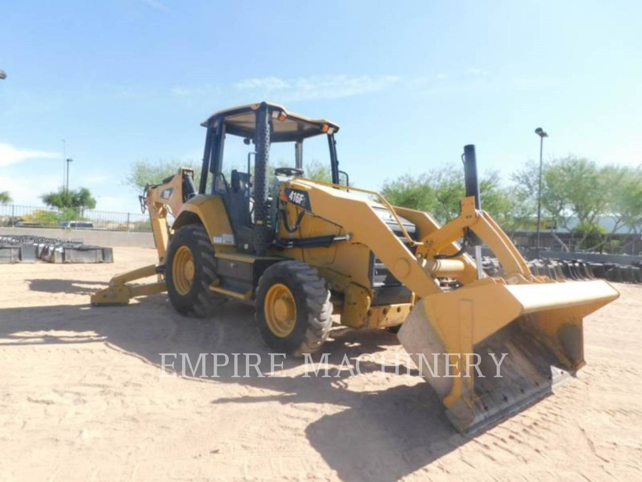 2018 Caterpillar 416F2 4EO Image 1