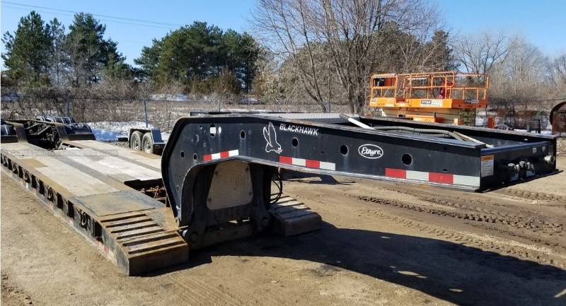 2010 Etnyre PRTN55, 53', Air Ride, Steel Rims Dropdeck/Lowboy Semi Trailer For Sale