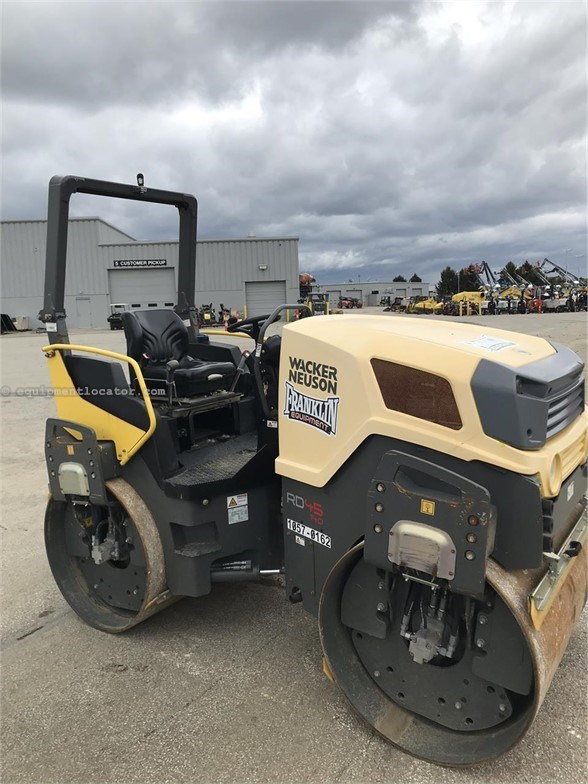2016 Wacker RD45-140 Compactor-Asphalt For Sale