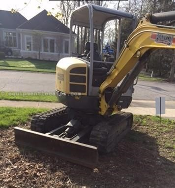 2015 Wacker EZ28VDS Excavator-Mini For Sale