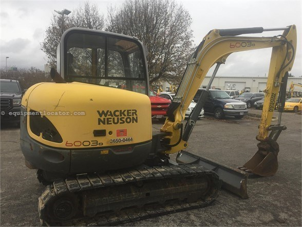 2014 Wacker 6003 Excavator-Track For Sale