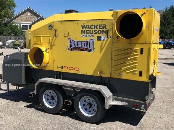 2014 Wacker HI900 Heater For Sale