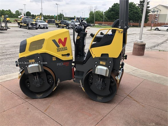 2019 Wacker RD28-120 Compactor-Asphalt For Sale