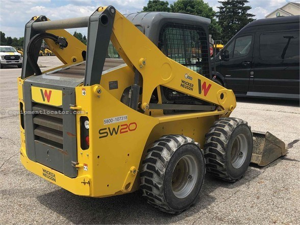 2018 Wacker SW20 Skid Steer For Sale