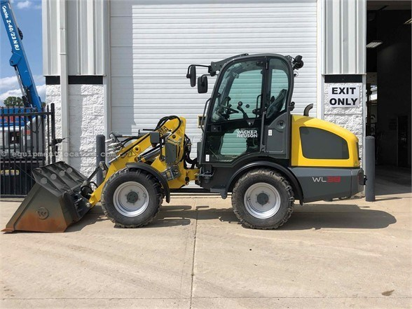 2018 Wacker WL38 Wheel Loader For Sale