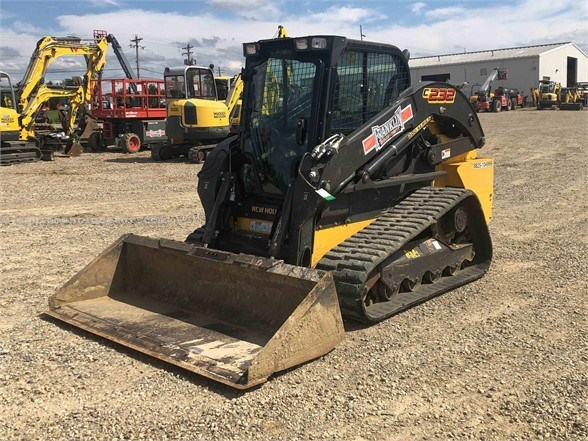 2018 New Holland C232 Skid Steer-Track For Sale