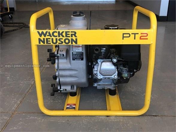 2016 Wacker PT2A Water Pump For Sale