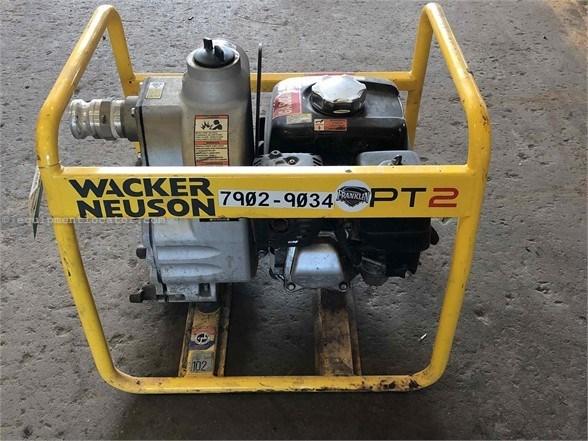 2016 Wacker PT2 Water Pump For Sale