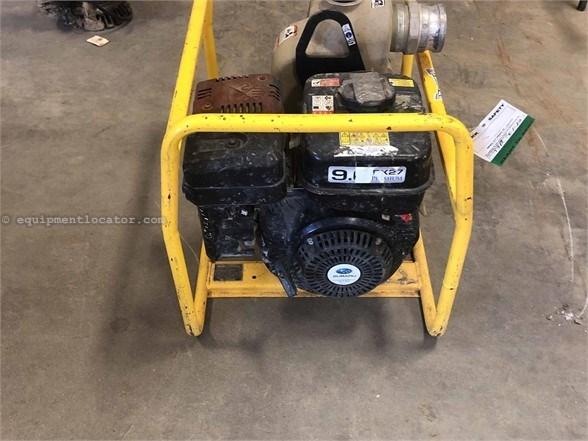 2015 Wacker PT3 Water Pump For Sale