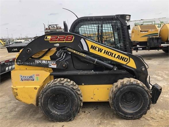 2017 New Holland L228 Skid Steer For Sale