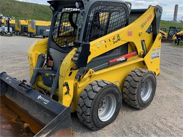 2015 Wacker SW28 Skid Steer For Sale
