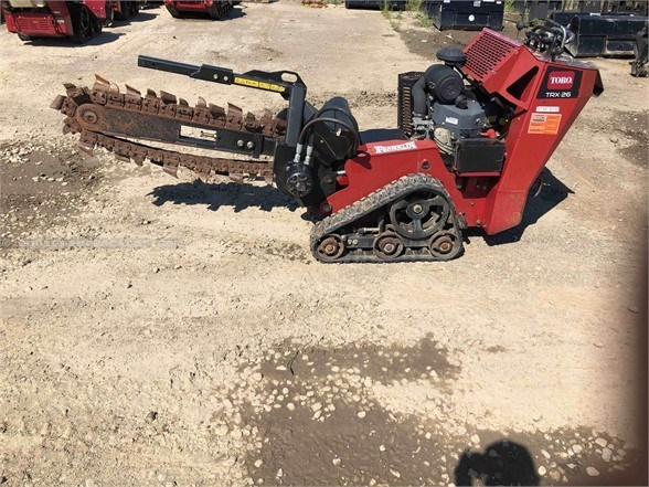 2015 Toro TRX26 Trencher-Rubber Tires For Sale