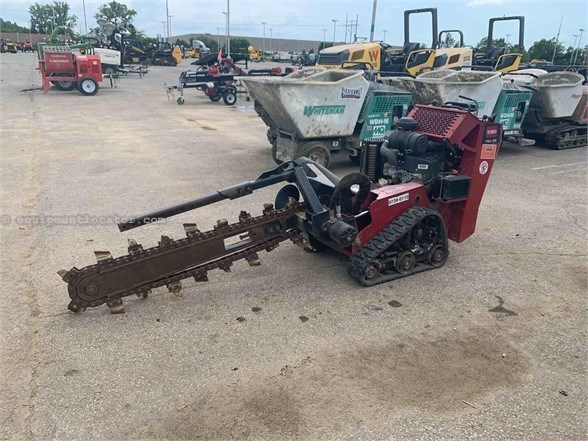 2014 Toro TRX26 Trencher-Rubber Tires For Sale