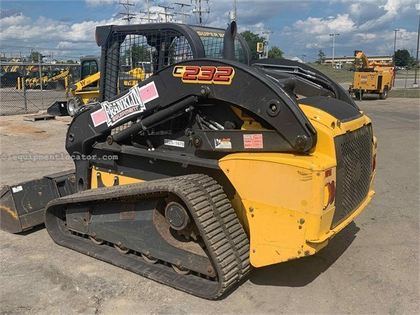 2014 New Holland C232 Skid Steer-Track For Sale