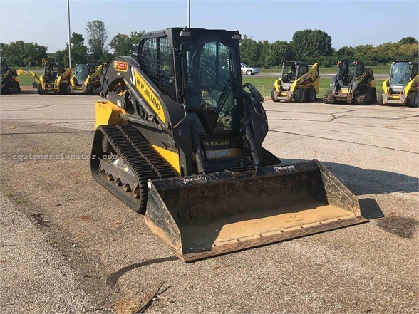 2018 New Holland C238 Skid Steer-Track For Sale