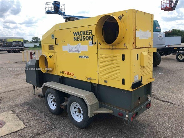 2014 Wacker HI750 Heater For Sale