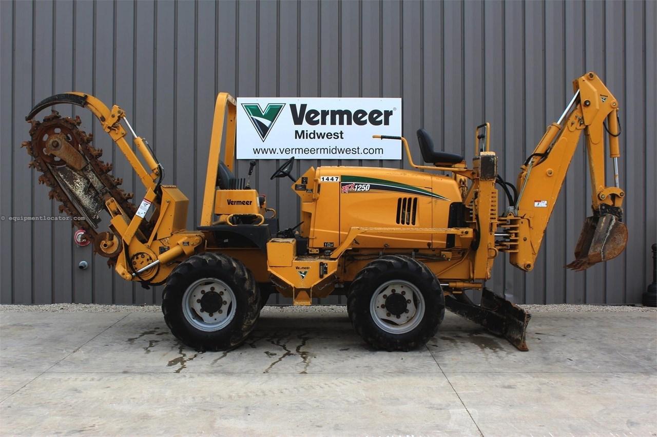 2013 Vermeer RTX1250 Image 1