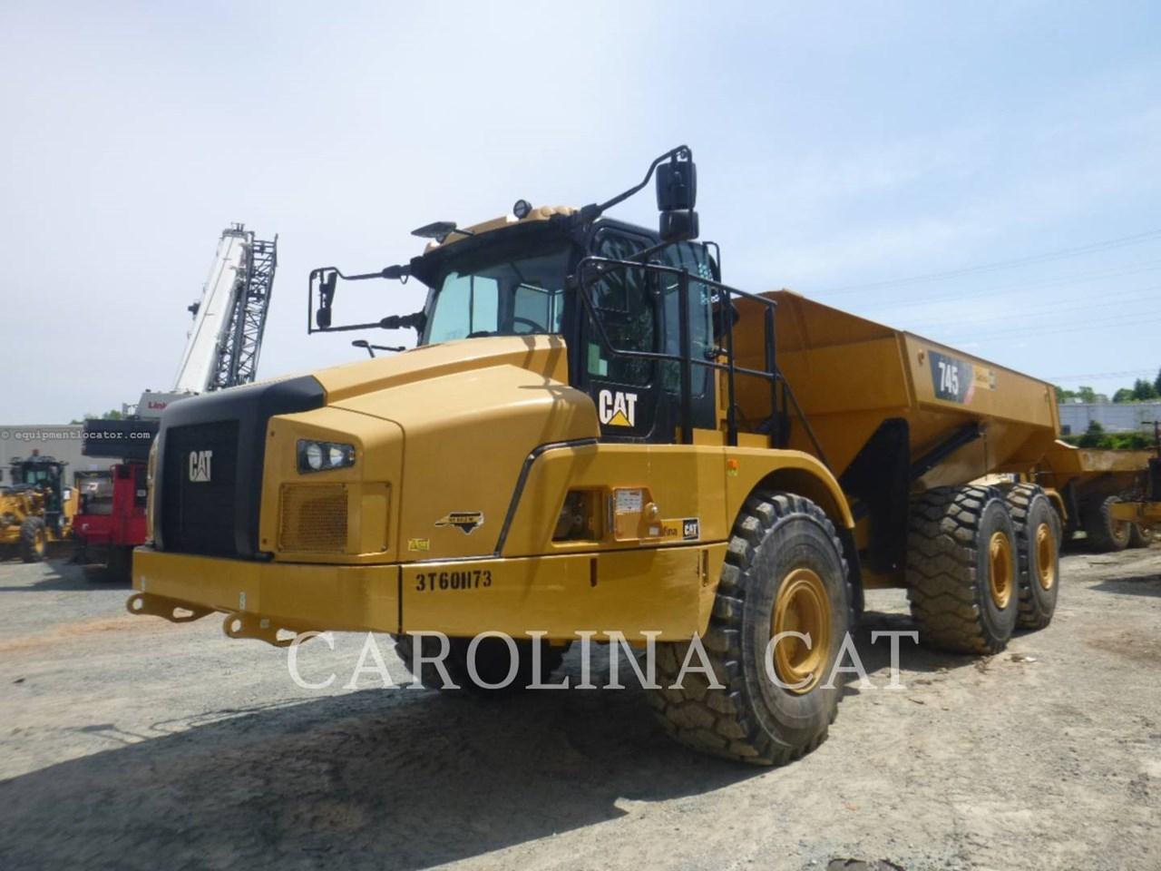 2019 Caterpillar 745 TG Image 1