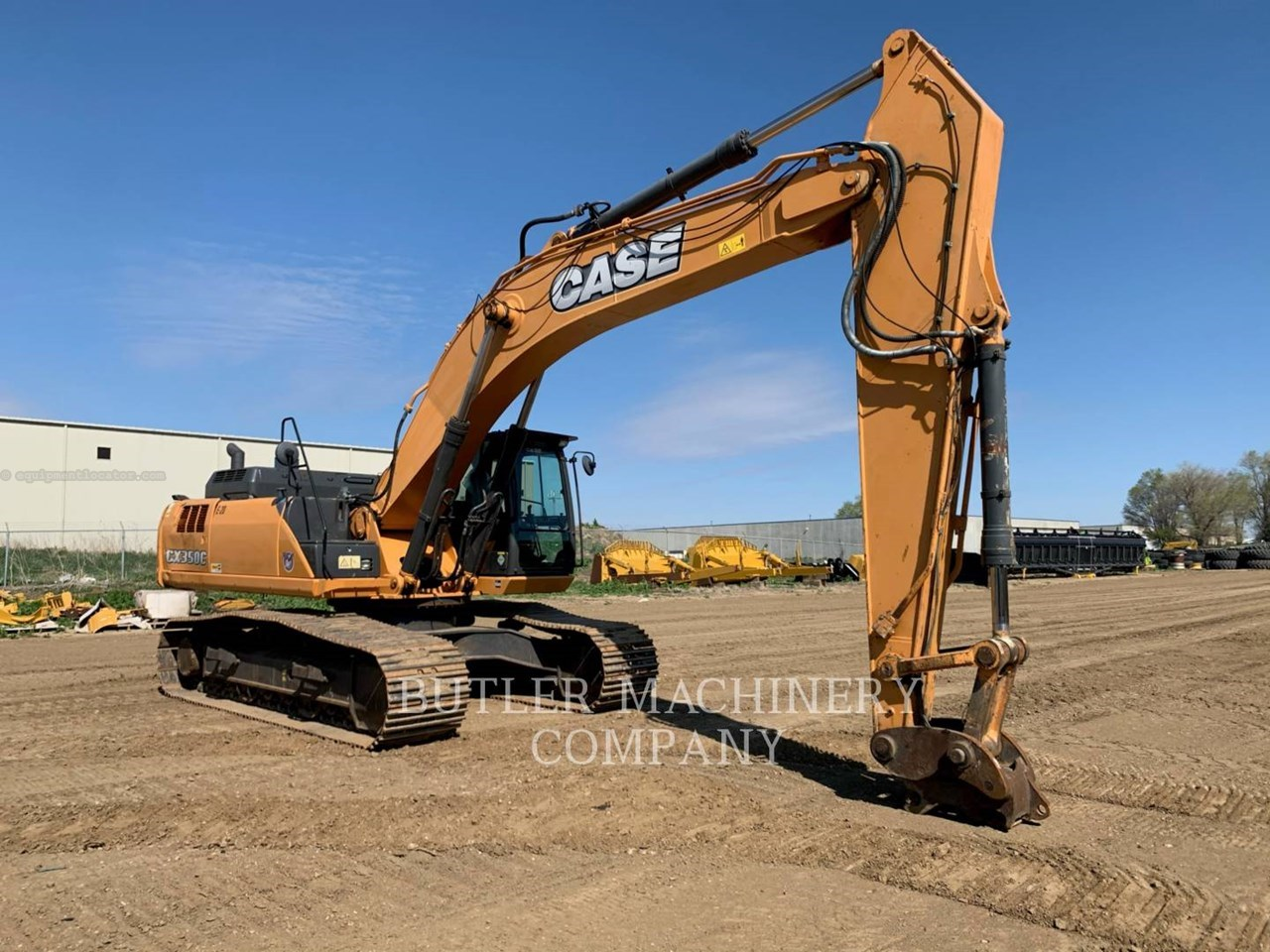 2014 Case 350C Image 1