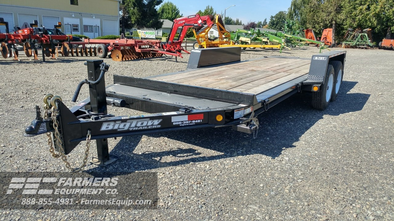 2021 Big Tow Trailers B-7DT-16' Image 1