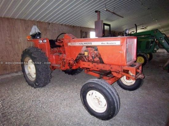 Allis Chalmers 170 Tractor : Allis chalmers tractor for sale at