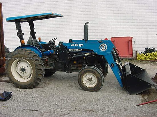 1996 New Holland Tractor : New holland tractor for sale at equipmentlocator