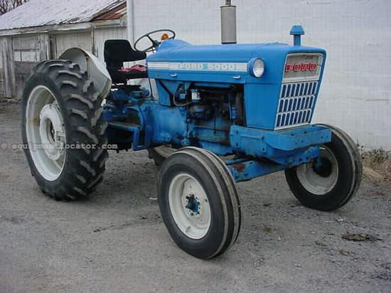 Ford 5000 Tractor Controls : Ford tractores a la venta at equipmentlocator