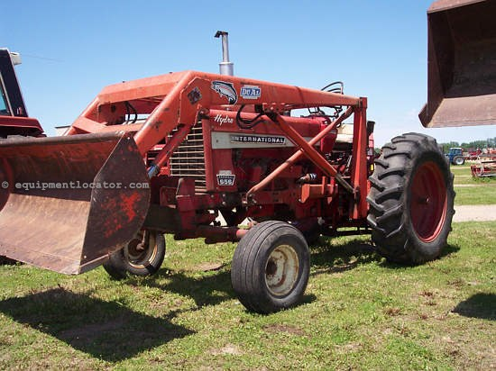 International 656 Seat : International hydro tractor for sale at