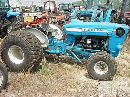 2600 Ford Tractor Specifications : Ford tractor for sale at equipmentlocator