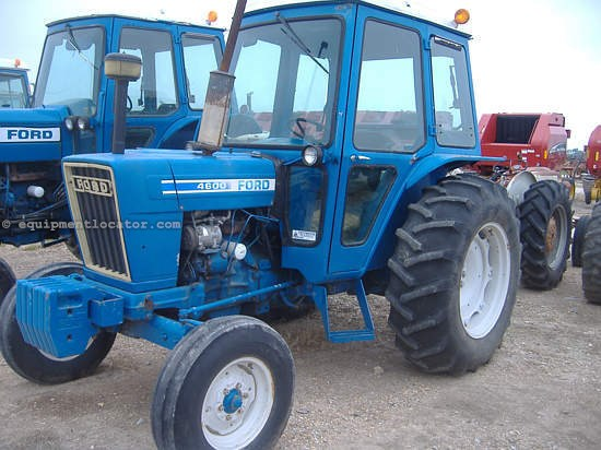 Ford 4600 Tractor Information : Ford tractor specs