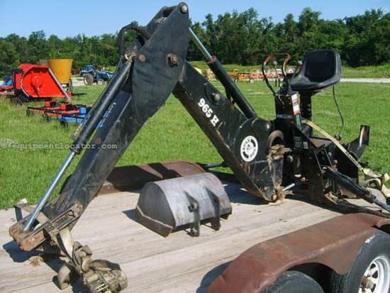Bush Hog 965h Loader Backhoe For Sale At Equipmentlocator Com