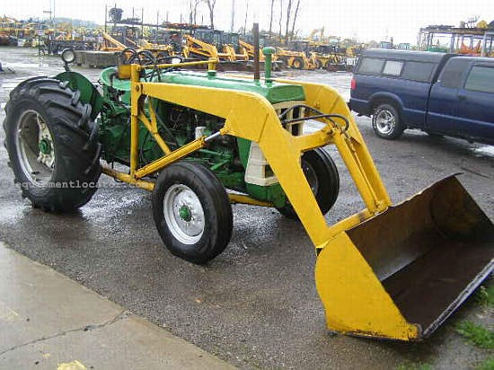 550 Oliver Tractor With Loader : Oliver tractor for sale at equipmentlocator