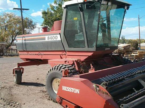 1992 Hesston 8400 Windrower-Self Propelled For Sale at