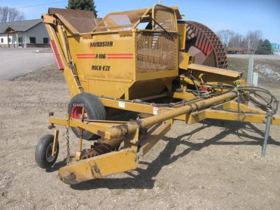 Rock Picking Machines : Haybuster h rock picker for sale at