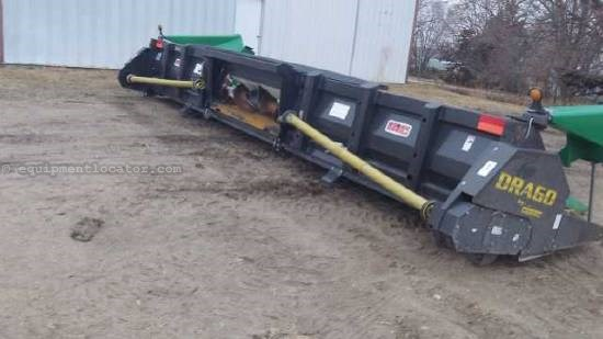 2008 Drago 836 Header-Corn For Sale