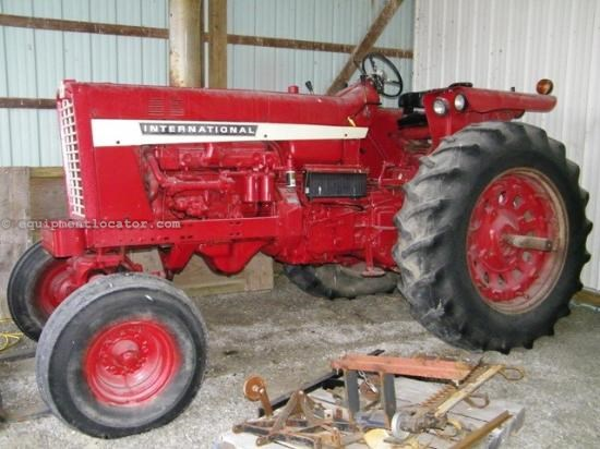 Ih 856 Tractor : International tractor for sale at