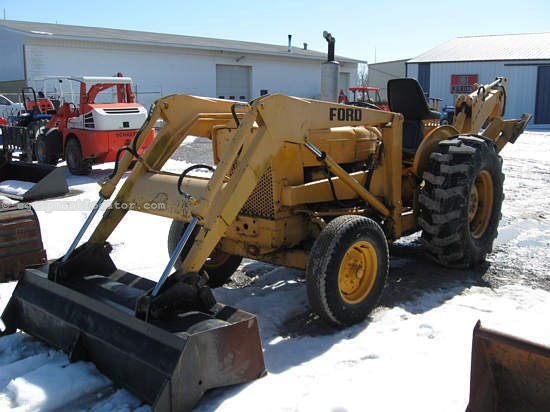 Ford 3500 Tractor : Ford loader backhoe for sale at equipmentlocator