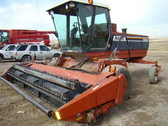 1994 Hesston 8400 Windrower-Self Propelled For Sale at