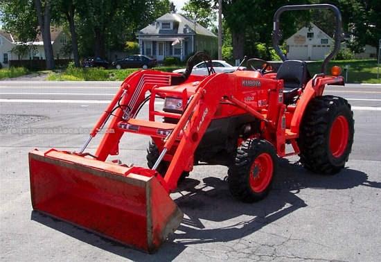 L3400 Kubota Tractor W Loader : Kubota l d tractor for sale at equipmentlocator