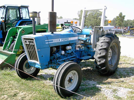 Ford 3600 Tractor Data : Ford hp tractor