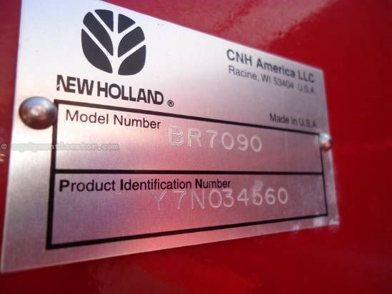 2008 New Holland BR7090 Baler-Round For Sale