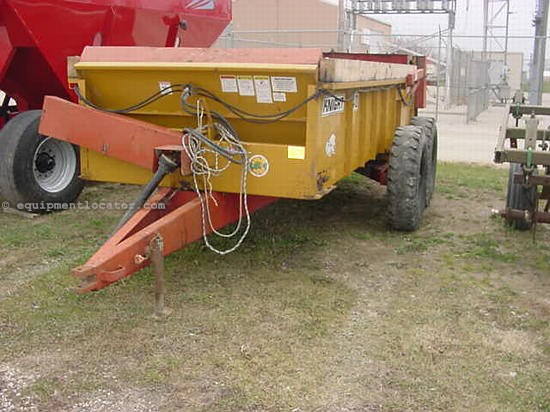 Knight 410 Spreader : Knight manure spreader dry pull type for sale at