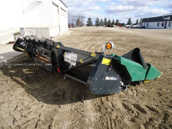 2007 Geringhoff NS830, 3 Sensor, 8R30,JD9670,9660,9860  Header-Corn For Sale