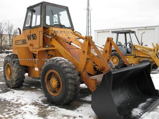 1981 case w18 wheel loader for sale at equipmentlocator com