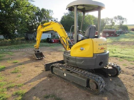 2007 New Holland E35 Excavator-Mini For Sale